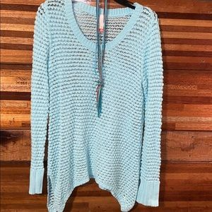 No boundaries cable knit sweater
